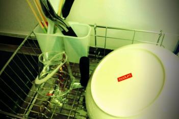台所の洗い物