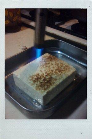 焼き豆腐は自宅で