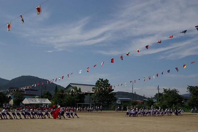20100918小学校運動会綱引き