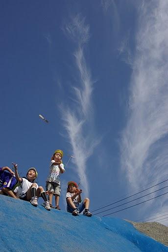 20100918小学校運動会nobu竹とんぼ