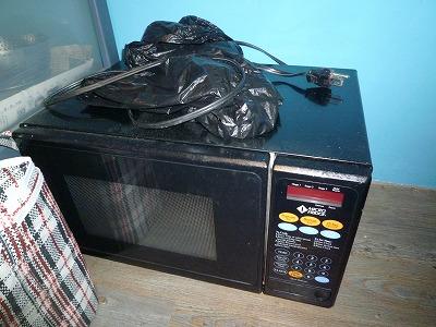 旧・電子レンジ