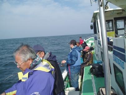 真鯛釣り風景