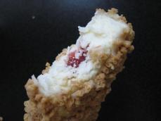 ザクザククッキーストロベリーチーズケーキ味