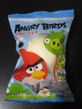 ANGRYBIRDSたまごアイス