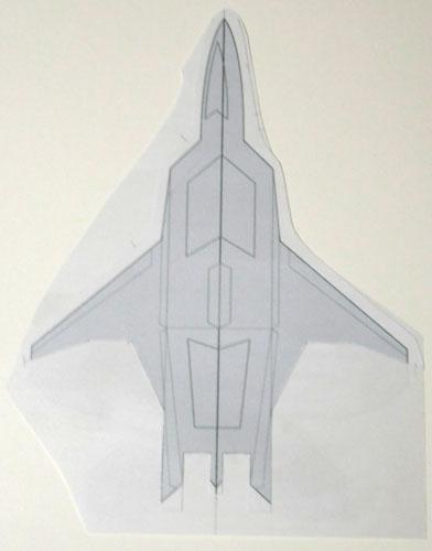 f22主翼貼り合せ