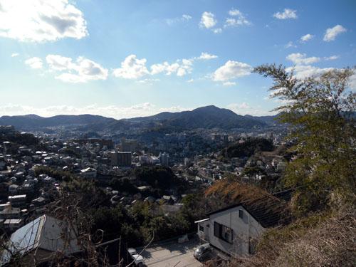 西山台からの眺め