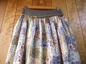 パッチスカート (2)