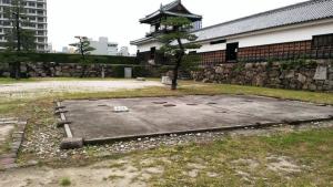 広島城二の丸番所跡