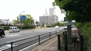 聖蹟 広島城前
