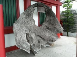 厳島神社大鳥居根元財