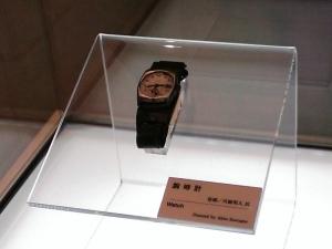 被爆した腕時計