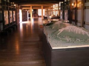 広島城展示室