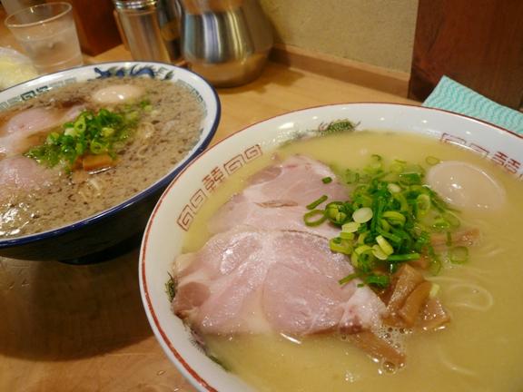大盛り麺+味卵のせ