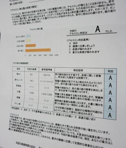 検査結果報告書(1)