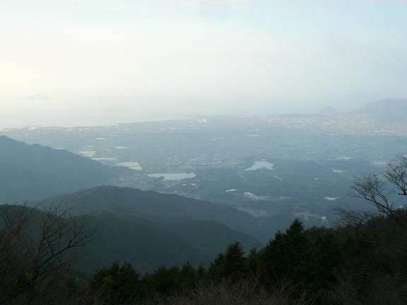 15時26分 最近、高い場所からの景色はほとんど見れた試しが無い