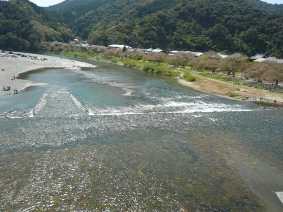 香川の川にはほとんど水が流れてません。。