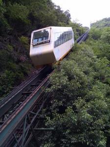 祖谷温泉ケーブルカー
