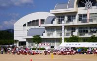 味間小学校運動会2010 1