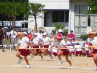 味間小学校運動会2010 2