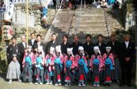 20101017 春日踊り 忠臣蔵 記念写真 小