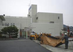 岡本病院 MRI舗装