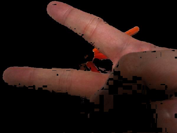 【OpenCV】肌色領域の抽出