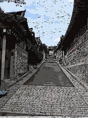 OpenCVで実写(写真)をアニメ風に変換
