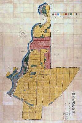 肥田古地図