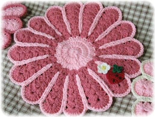 苺な花円座1