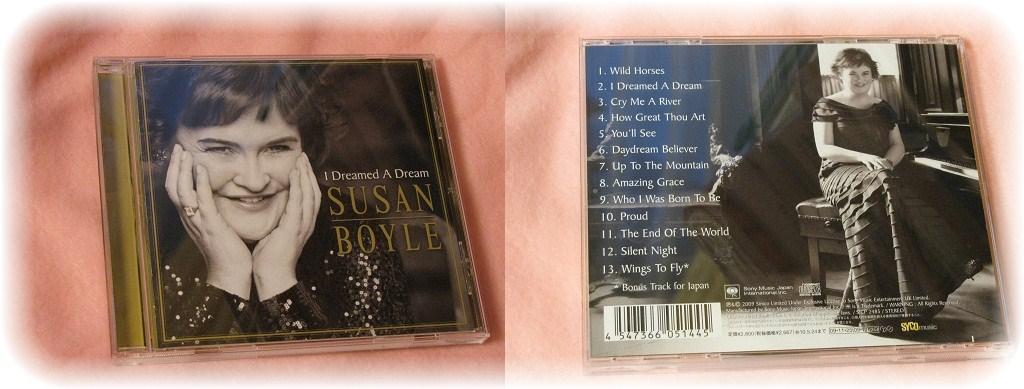 _スーザンボイルのCD「夢やぶれて」