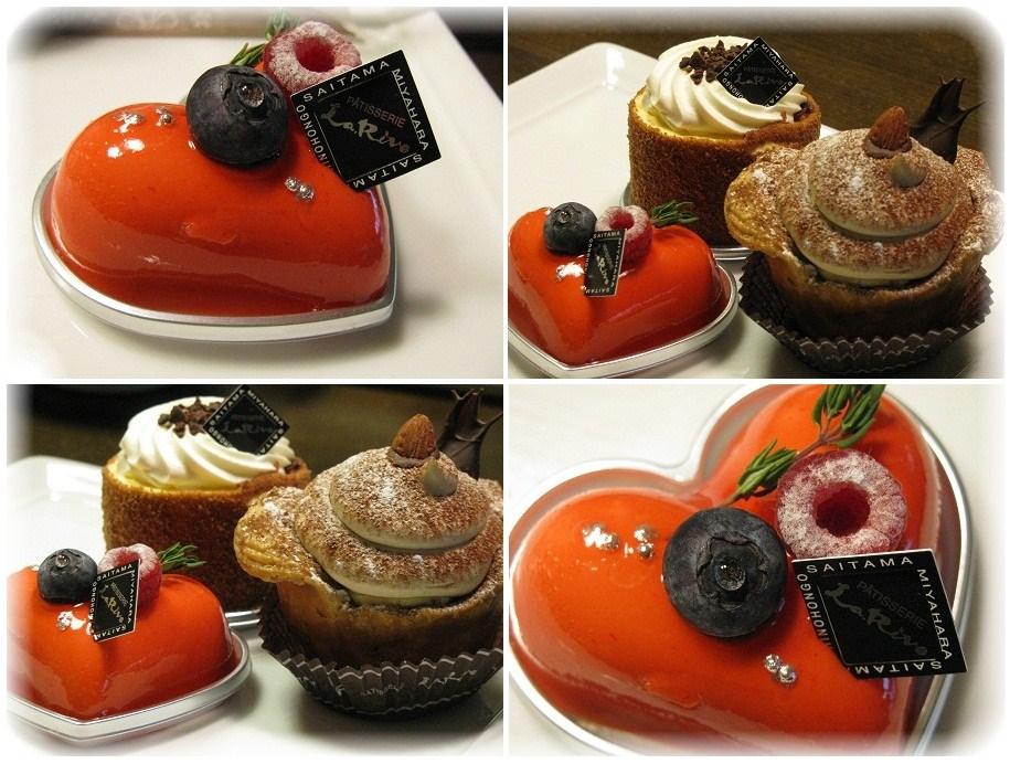 _ラ・リーブのケーキ♪
