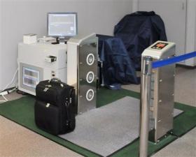 ウオークスルー型爆発物探知システム