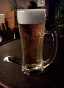 生ビール(350円)カンゾ