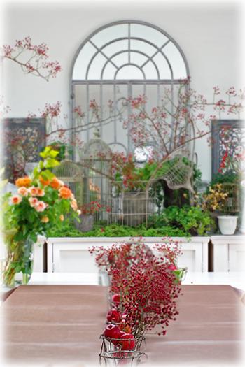 10月のお花教室1