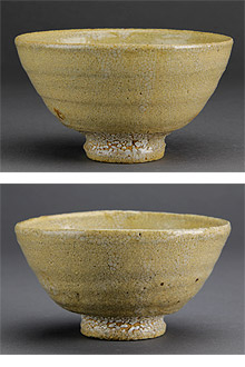 1月3日井戸茶碗