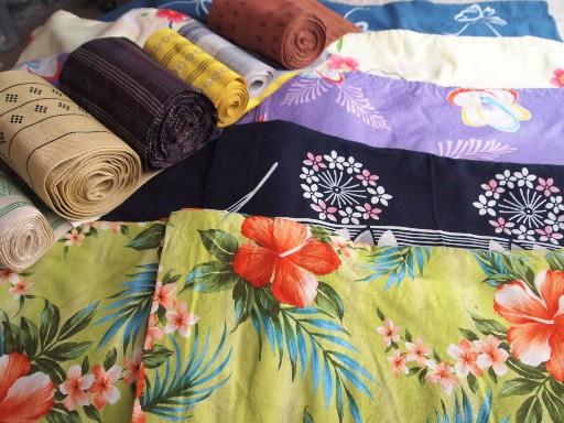 浴衣&半巾帯