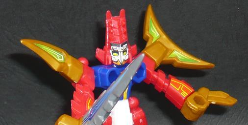 チェンジバトラー ドラコアックス ロボットモード