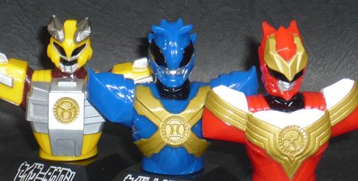 超星神グランセイザー製作記念 胸像ソフビ