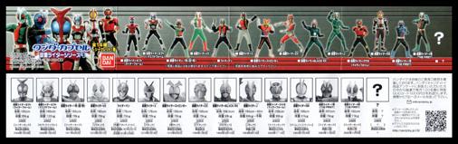 ワンダーカプセル 仮面ライダーシリーズ1 ミニブック