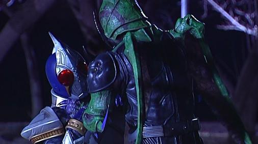 仮面ライダー剣 第1話「紫紺の戦士」