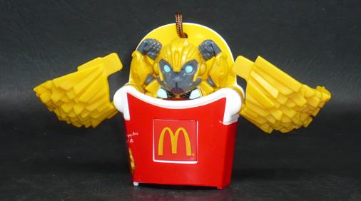 ポテトトランスフォーマー バンブルビー ロボットモード