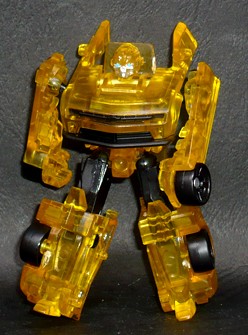 限定クリアカラー バンブルビー ロボットモード