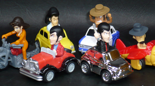 JT Roots 10thアニバーサリー ルパン三世 プルバックカーコレクション 2ndTV Ver,