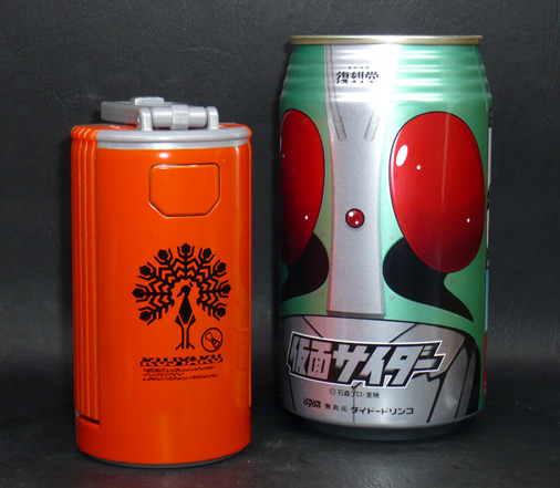 クジャクカンドロイド 缶モード