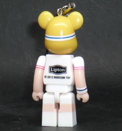 リプトン スマートタイムズ フレッドペリー ベアブリックコレクション 01,TENNIS