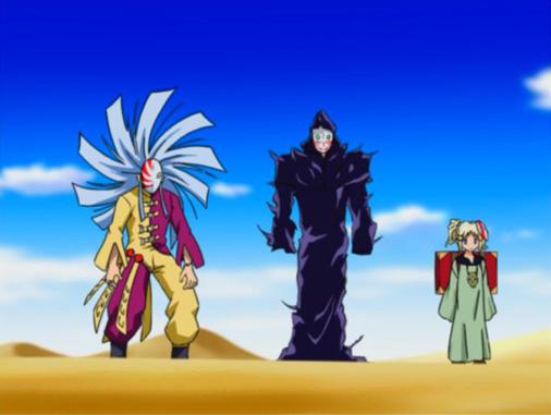 MÄR -メルヘヴン- 第21話「砂漠フィールド! 闘うお姫様!!」