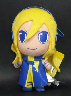 Lily from anim.o.v.e カラフルぬいぐるみマスコット リリィ ブルー