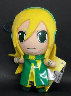 Lily from anim.o.v.e カラフルぬいぐるみマスコット リリィ グリーン