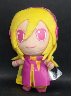 Lily from anim.o.v.e カラフルぬいぐるみマスコット リリィ ピンク