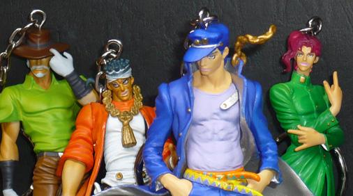バンプレスト ジョジョの奇妙な冒険 コレクションフィギュアキーホルダーVol,1